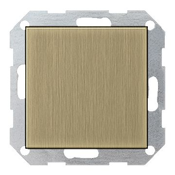 Gira ClassiX Brons outlet-component kunststof, brons, samenstelling