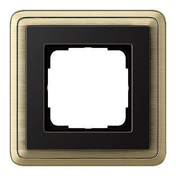 Gira ClassiX Brons afdekraam, metaal, brons, 1 eenheid, montagerichting