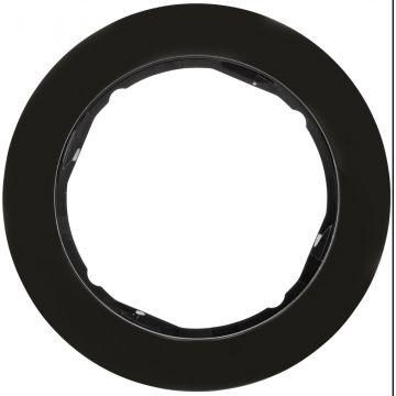 Hager berker R.classic afdekraam, zwart, (bxhxd)