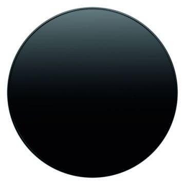 Hager berker R.1/R.3 bedieningselement/centraalplaat, zwart
