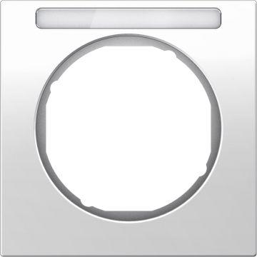 Hager berker R.3 afdekraam, wit, (bxhxd) 81x81x10mm