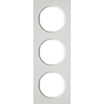 Hager berker R.3 afdekraam, wit, (bxhxd) 223x81x10mm