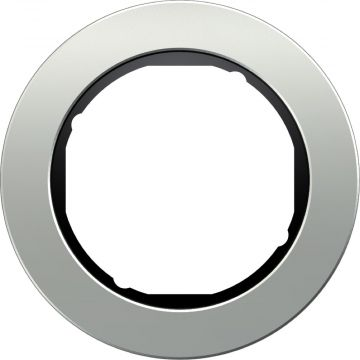 Hager berker R.classic afdekraam metaal, aluminium, (bxhxd)