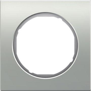 Hager berker R.3 afdekraam metaal, aluminium, (bxhxd) 81x81x10mm