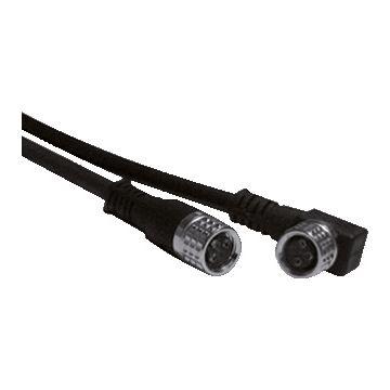 Omron XS3F-M8-4 Polig PVC sensor/actorkabel met connector, 4 polen, uitvoering