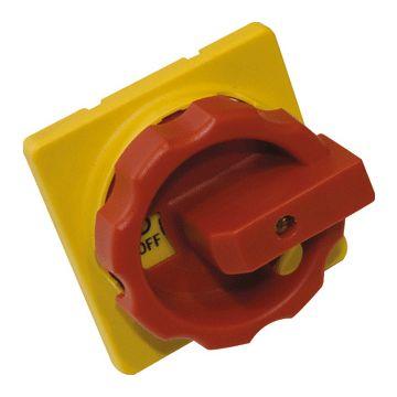 ASN Sontheimer Z 33 hangslotvergrendeling voor schakelaar, rood/geel, max. aantal hangsloten