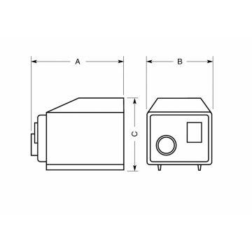 Erea BA spaartransformator, (lxbxh) 160x110x120mm primaire spanning 110 -