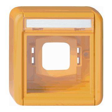 Gira Spatwaterdicht opbouw bedieningselement/centraalplaat kunststof