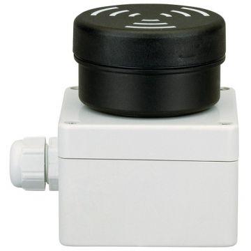 Werma drukknopkast leeg, (hxbxd) 55x82x106.5mm 1 commandoposities, bouwvorm