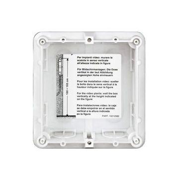 Legrand BTicino Sfera montage-element voor deurstation, aluminium, (hxb) 91x115mm