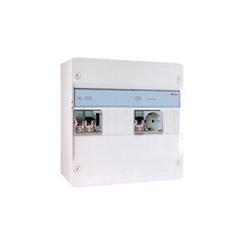 Legrand PV-verdeler installatiekast, (hxbxd) 250x355x103.5mm 1 fasen, beveiliging
