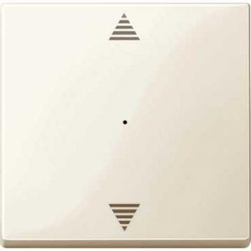 Schneider Electric Merten KNX impulsdrukkermodule 1-voudig (Opdruk op/neer), wit