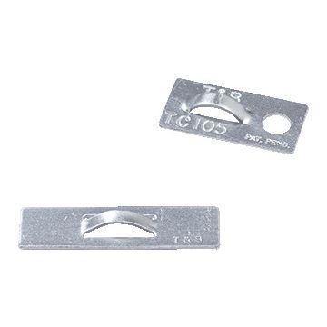 Thomas & Betts Mounting bases bev.sokkel/element voor ty-rap, metaal, aluminium