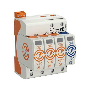 Obo overspanningsbeveiliging V20 3 280V DS