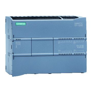 Siemens S7 1200 plc basiseenheid compact, voedingsspanning bij DC 20.4-28.8V
