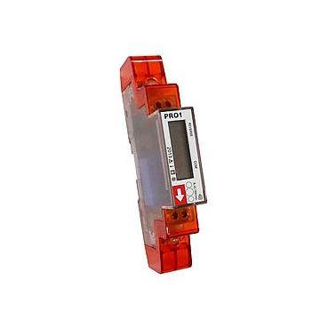 Inepro DMMetering PRO KWh 18mm U 5+2 elektriciteitsmeter directe meting, type