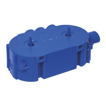 ABB Hafobox Gietbouw doos voor montage in wand/plafond, kunststof, blauw