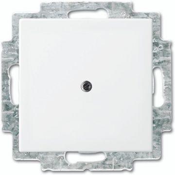 Busch-Jaeger Busch-balance SI blinde centraalplaat met draagring, wit
