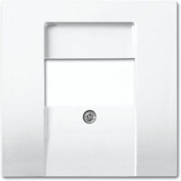 Busch-Jaeger Busch-balance SI centraalplaat voor datacommunicatie, wit