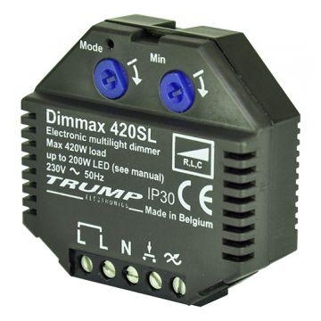 Max4Tech Dimmax dimmer kunststof, zwart, samenstelling basiselement