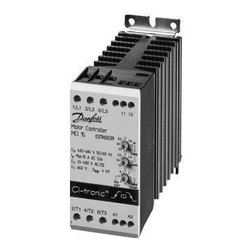 Danfoss CI-tronic soft starter, nom. bedrijfsstroom Ie bij 40 °C 15A, nom.