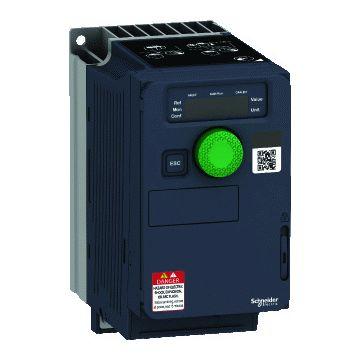 Schneider Electric frequentieregelaar 0,75kw 200-240vac 1f compact