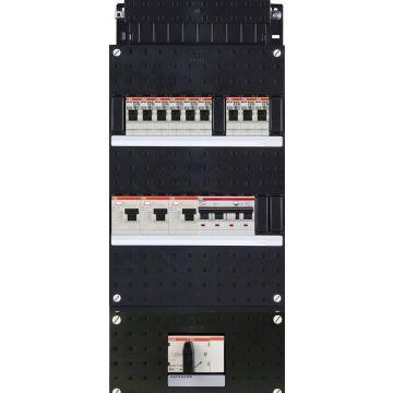 ABB installatiekast ABB Hafonorm, 440x220x90mm, 3 fasen HAD333333222HS404C