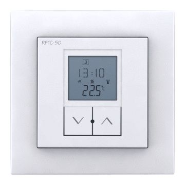 Drl E-Comfort WIST draadloze thermostaat, wit