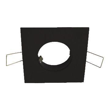 Klemko mechanische toebehoren spot/schijnwerper Luzern, aluminium, zwart, (bxl) 80x80mm