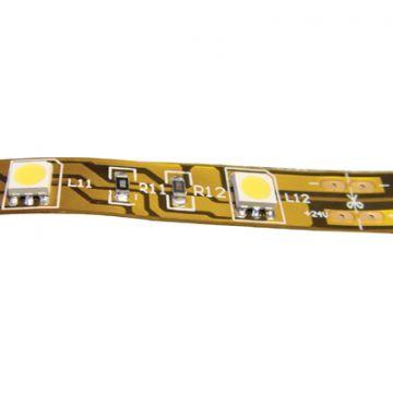 Klemko lichtslang/-band band, warm wit, (bxh) 12x2mm, lamptype LED