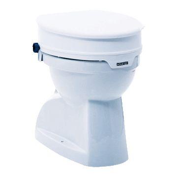 Invacare toiletverhoger aquatec 90, kunststof, wit, ho 10cm