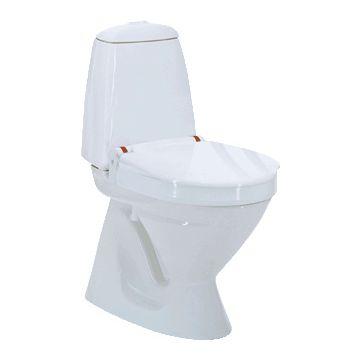 Invacare toiletverhoger aquatec 90000, kunststof, wit, ho 2cm