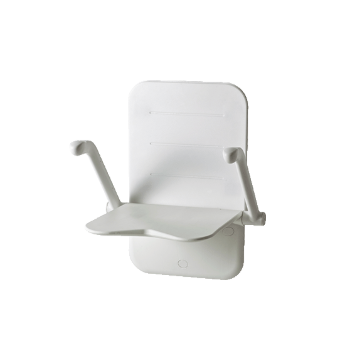 Etac douchezitting relax, br 530mm, frame wit, frame staal 81703060