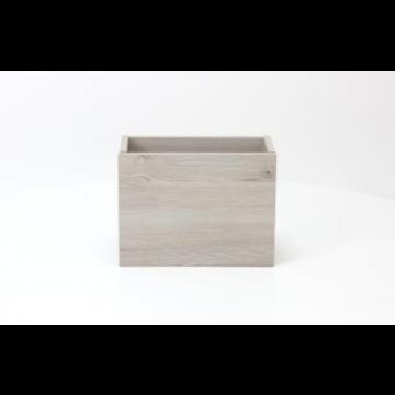 Sub 066 fonteinonderkast 36x18cm deur universeel, essen grijs