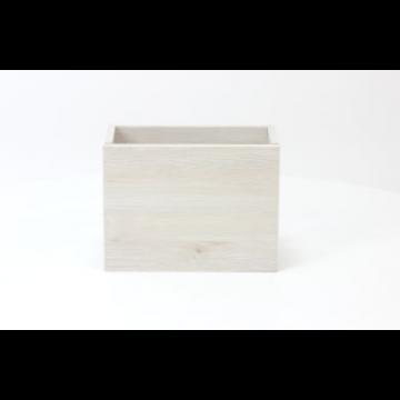 Sub 066 fonteinonderkast 36x18cm deur universeel, essen wit
