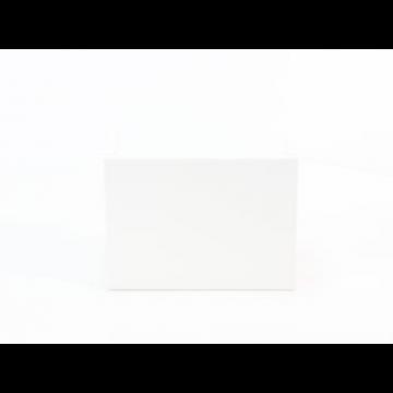 Sub 064 fonteinonderkast 40cm links, wit gelakt