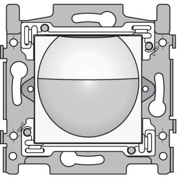 Niko Original binnenbewegingsmelder 180° met schakelcontact 10A 230V 8m, wit