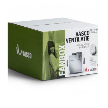VASCO C400RF woonhuisventilator startpakket