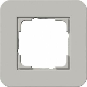 Gira E3 afdekraam 1-voudig grijs-antraciet