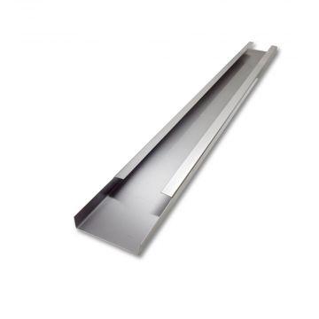 Rheinzink verholen dakgoot 90 graden à 2 m gootbreedte 19,2 cm, zink