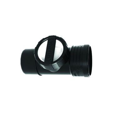Wavin SiTech+ Ontstoppingsstuk+SD 125, zwart