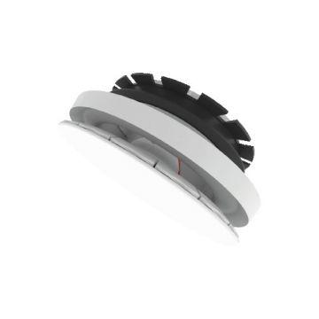 ZEHN ventilatieventiel, kunstst, wit, rond, nom. diam aansl 125mm