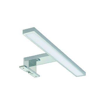WAVE badkamerverlichting LUCIA, chroom. mat, (bxhxd) 1150x40x130mm