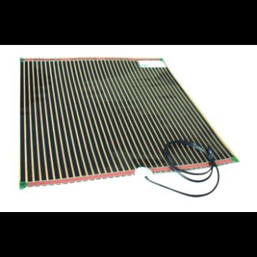 WAVE spiegelverwarming rechth, 400x800mm, verm 66W, 230V, zelfkl
