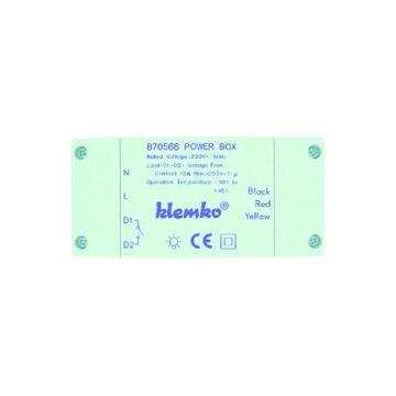 Klemko bewegingsschakelaar presentiemelder IP20, wit