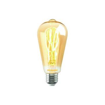 Sylvania ledlamp Toledo Vintage, 5.5W, dimbaar, peer, lampaanduiding ST64