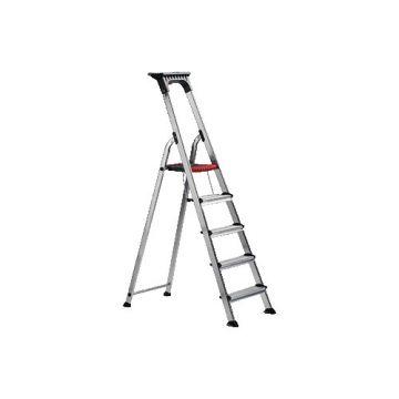 ALTR trap Double Decker, alu, 5 treden, werkhoogte 305cm
