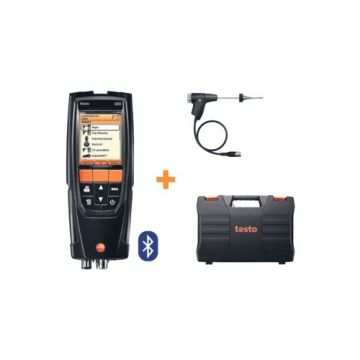 TES rookgasmeter T320, ind/aanduiding dig, display verlicht