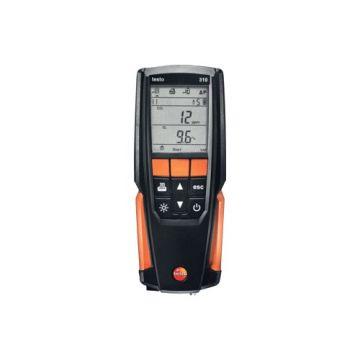 TES rookgasmeter, ind/aanduiding dig, display verlicht