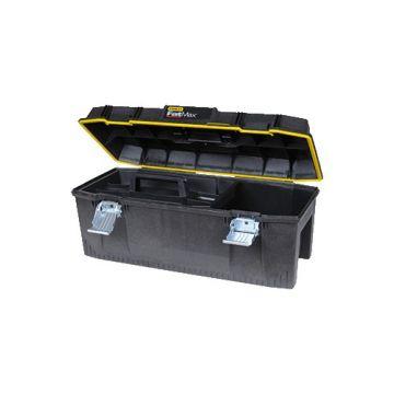STNL gereedschapkist/tas, ABS-kunstst, zw/geel, (hxbxd) 308x710x285mm